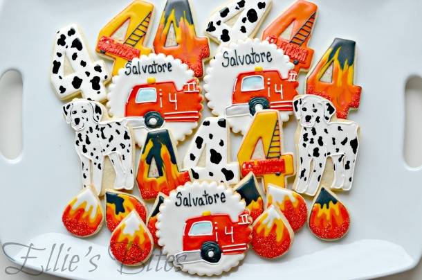 Dalmatian And Firetrucks (Ellie's Bites)