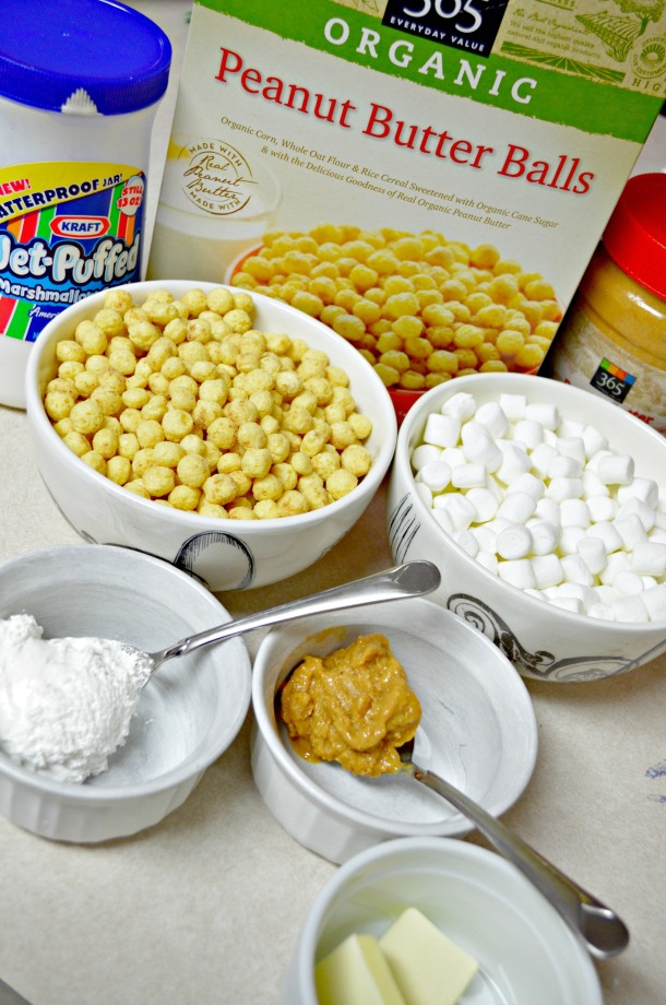 FlufferNutter Bars Ingredients