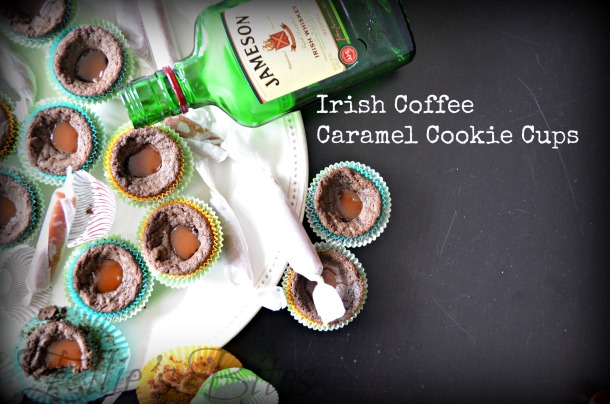 Irish Coffee Caramel Cookies (Ellie's Bites)