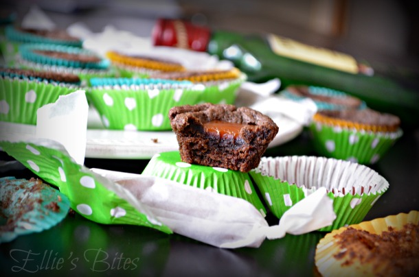 Irish Coffee Caramel Filled Cookie Cups (Ellie's Bites)