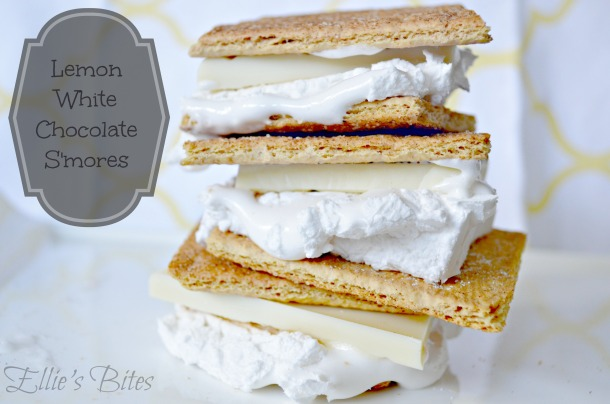 Lemon White Chcolate S'mores (Ellie's Bites)
