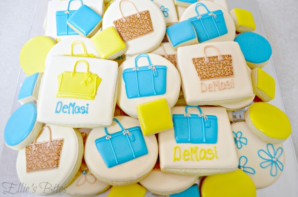 Coach Bag Cookies (Ellie's Bites)