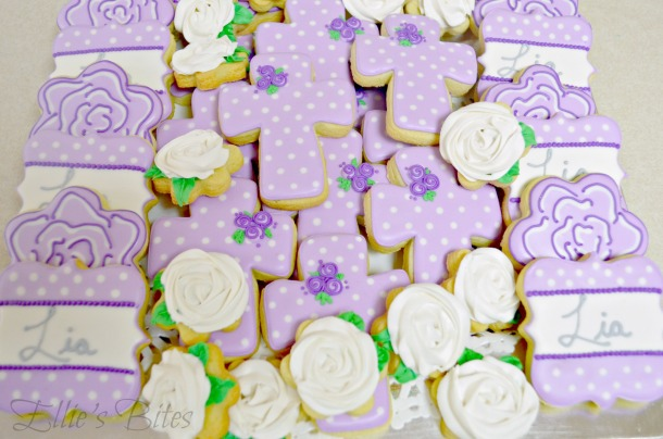 Purple Communion Cookies