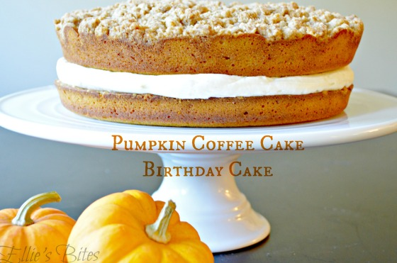 Pumpkin Coffee Cake (Ellie's Bites)