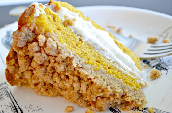 Pumpkin Coffee Cake Slice (Ellie's Bites)