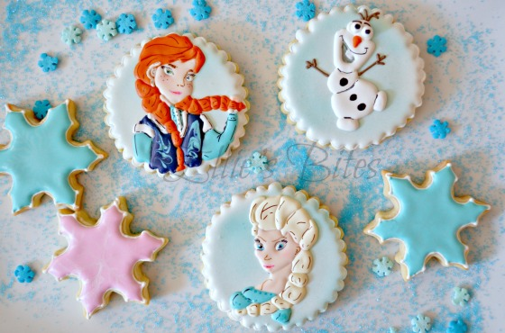 Frozen Anna Elsa Olaf (Ellie's Bites)