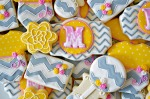 Yellow and Grey Baby Shower (Ellie's Bites)