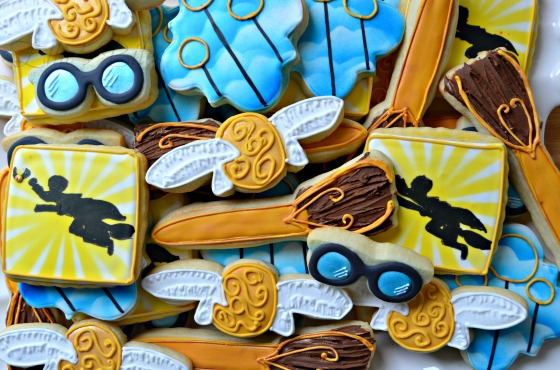 Harry Potter Party Cookies (Ellie's Bites)