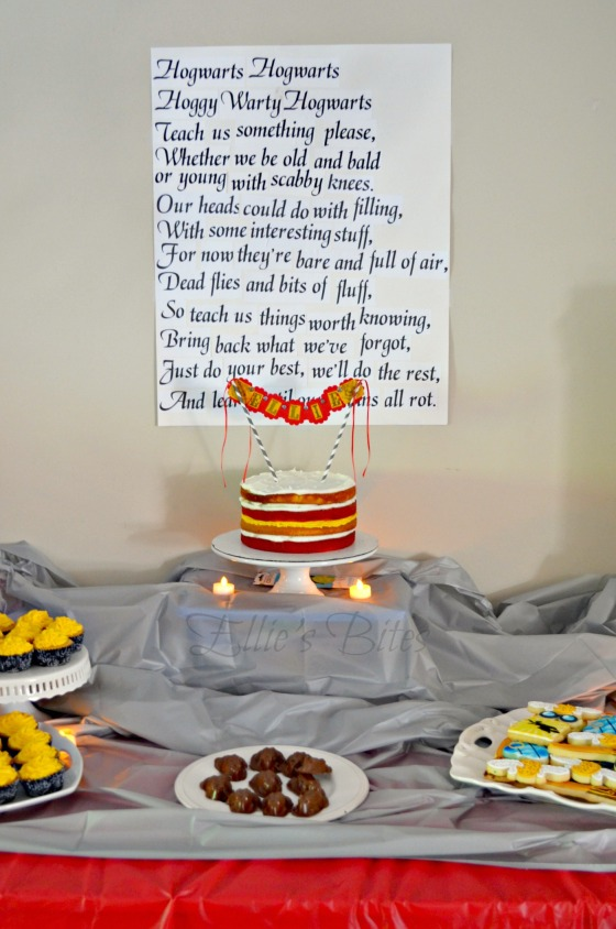 Harry Potter Party Dessert Table (Ellie's Bites)