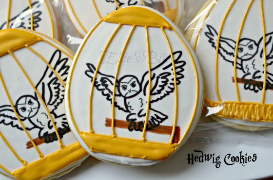Hedwig Cookie Favors (Ellie's Bites)