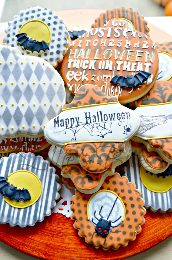 Halloween Cookies 2014 (Ellie;s Bites)